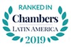 Ranked in Chambers Latin America 2019